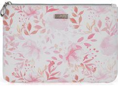 Kosmetická taška plochá Pink flowers