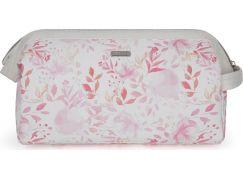 Kosmetická taška velká Pink flowers