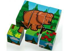 Kostky kubus Moje první lesní zvířátka