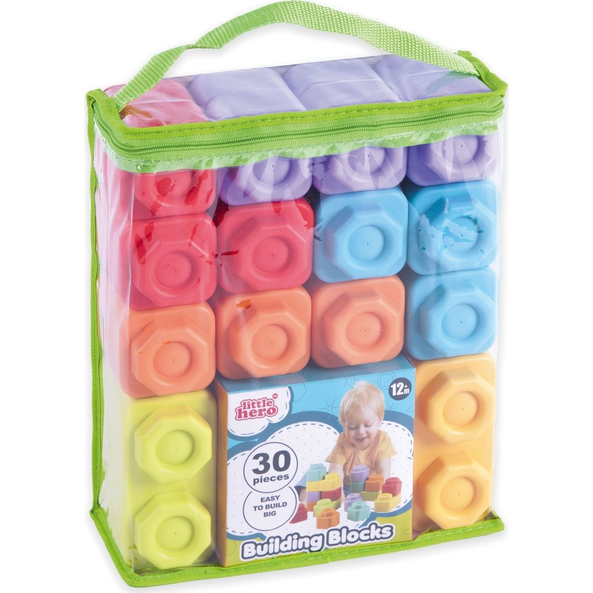 Kostky měkké gumové 30ks