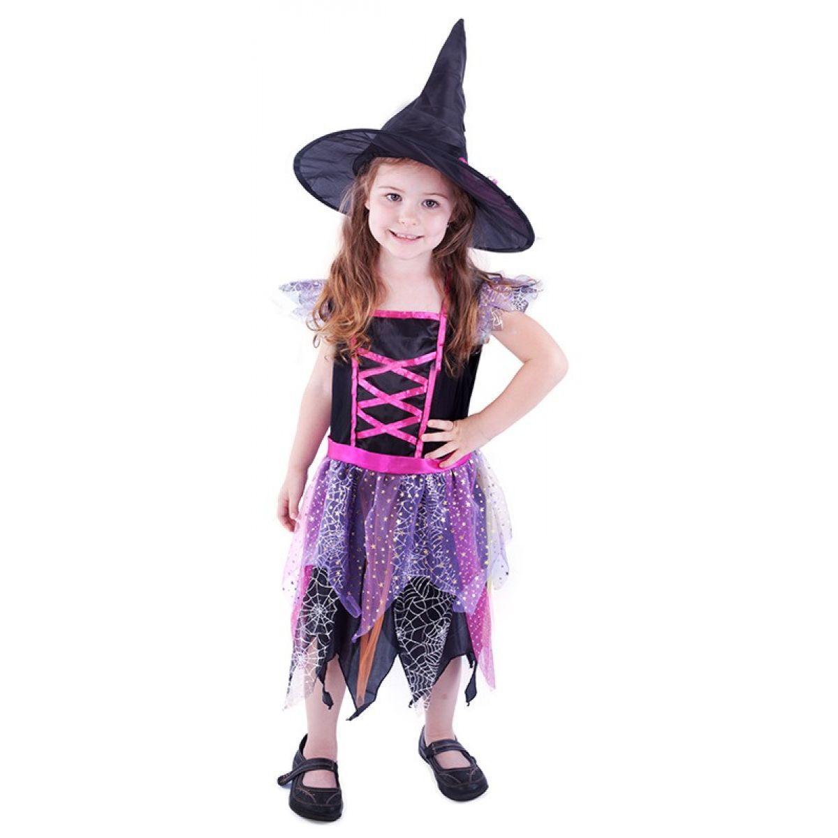 Kostým Čarodějnice s kloboukem vel. XS