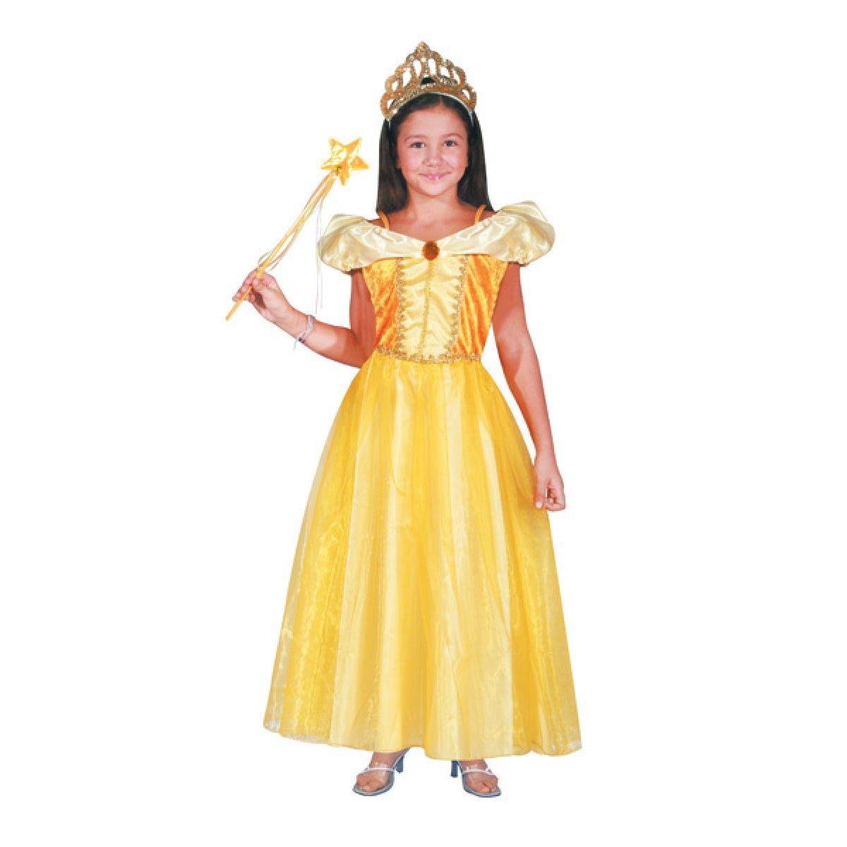 Kostým Princezna Bella žlutý vel. M