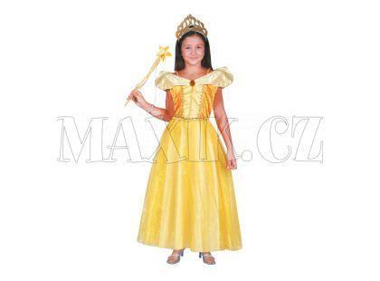 Kostým Princezna Bella žlutý vel. S