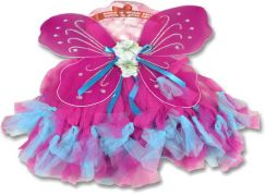 Kostým Křídla a sukně fialovo-modrá