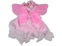 Kostým Křídla a sukně růžová