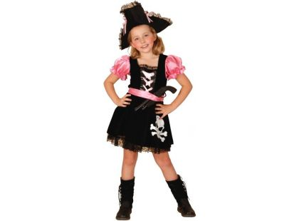Kostým na karneval Pirátka 110-120cm