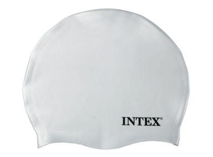 Koupací čepice Intex 55991 - Bílá