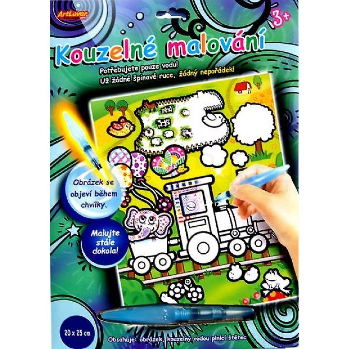 29eabe058 Kouzelné malování vodou - Mašinka | Maxíkovy hračky