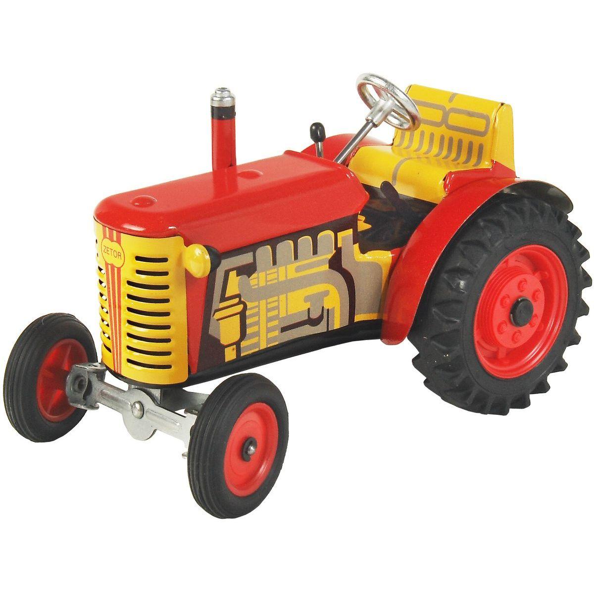 Kovap Traktor Zetor - Červený