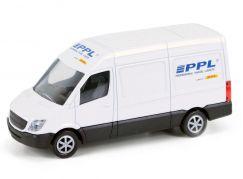 Kovový model dodávky PPL 1:64
