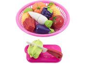 Krájecí ovoce a zelenina v košíku 20 cm