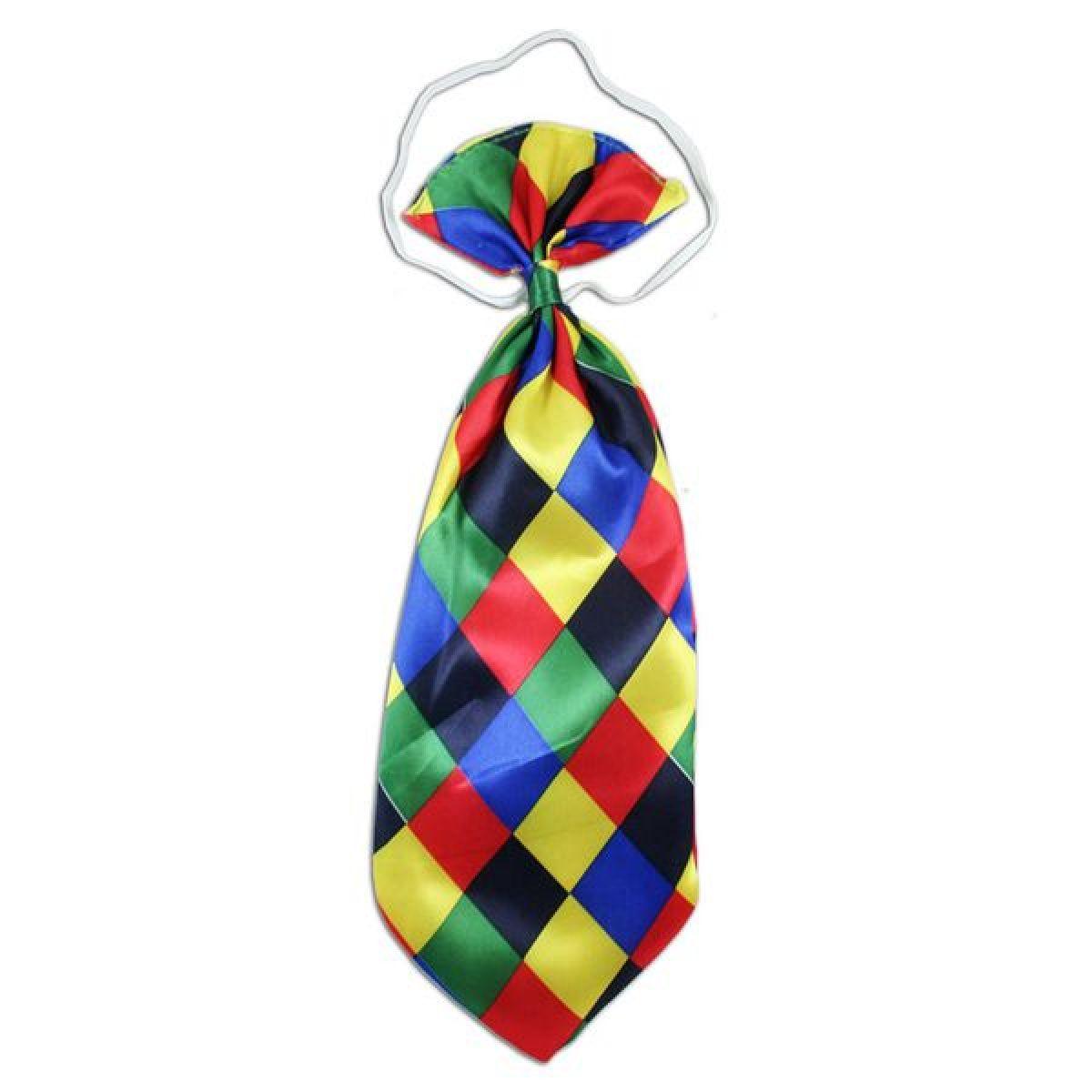 Kravata karnevalová Klaun