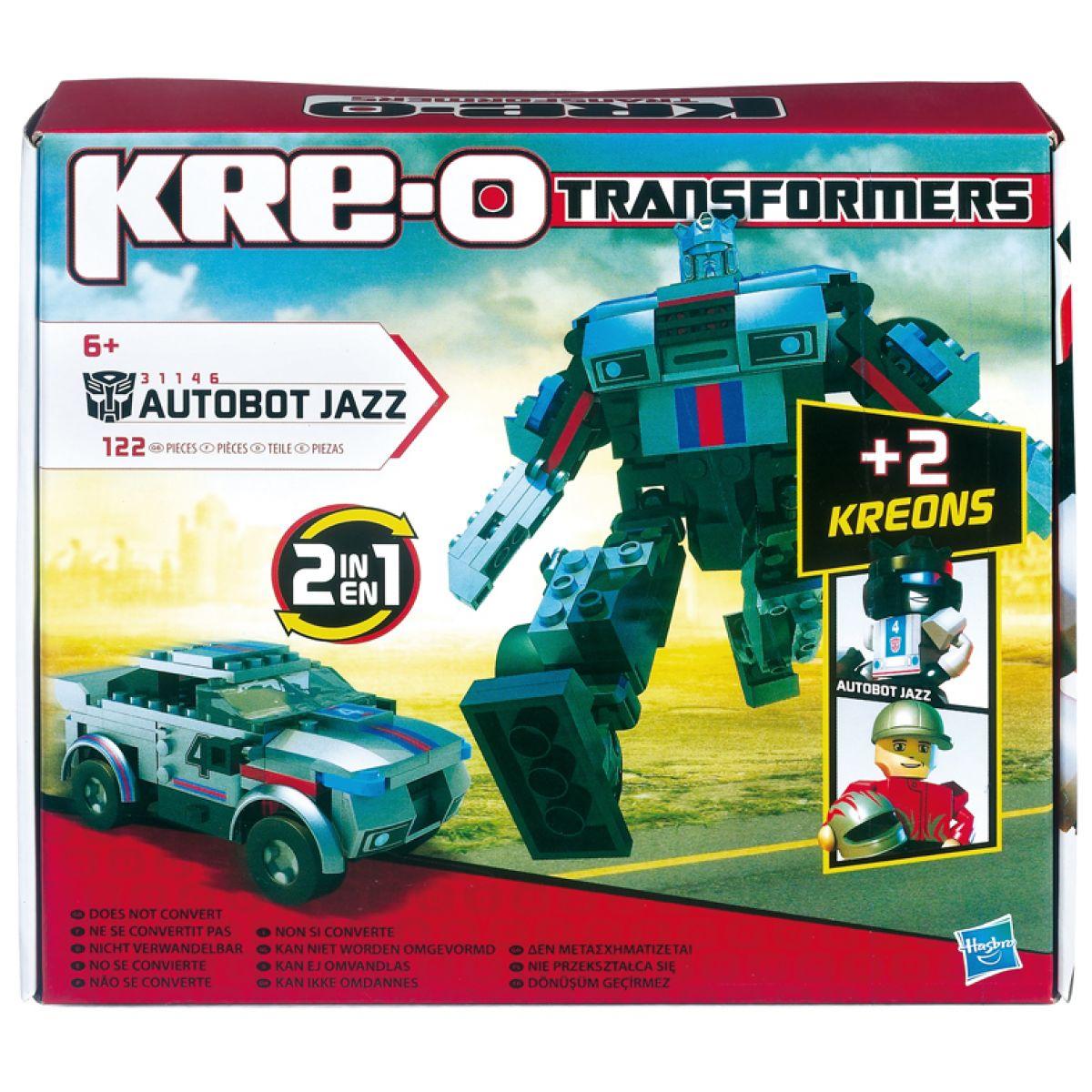 KRE-O Transformers stavebnice Autobot Jazz Hasbro 31146