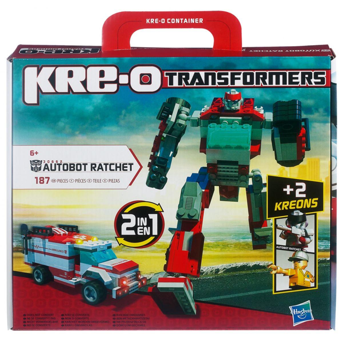 KRE-O Transformers stavebnice Autobot Ratchet Hasbro 30662