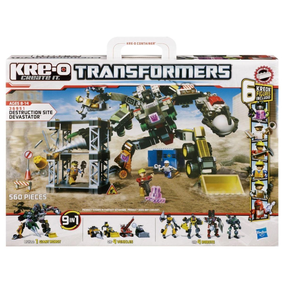 KRE-O Transformers stavebnice boj o Devastator - POŠKOZENÝ OBAL