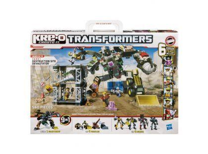 KRE-O Transformers stavebnice boj o Devastator