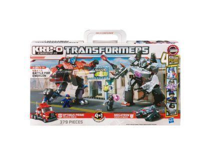KRE-O Transformers stavebnice Optimus vs. Megatron