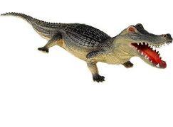 Krokodýl 60 cm Šedý
