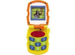 Krtkův mobil telefon s měnícími se obrázky