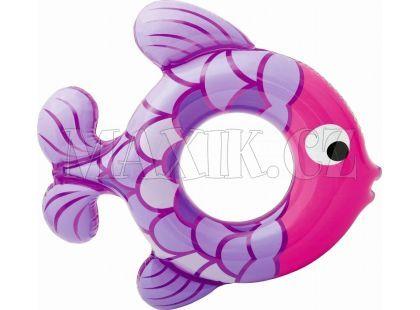 Kruh rybka 77 cm Intex 59222 - Fialová