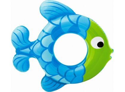 Kruh rybka 77 cm Intex 59222 - Modrá