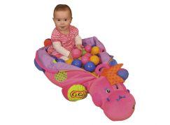 K's Kids Růžová dinosauřice s míčky