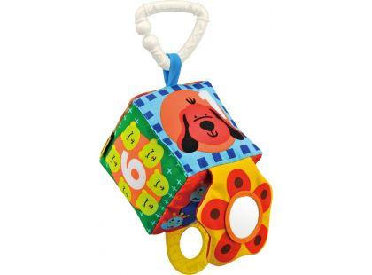 K's Kids Úchyt na kočárek - barevná kostka