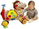 K's Kids Velká zebra Ryan s 28 funkcemi zábavy 2