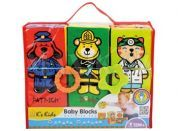 K's Kids Zábavné textilní kostky 6ks