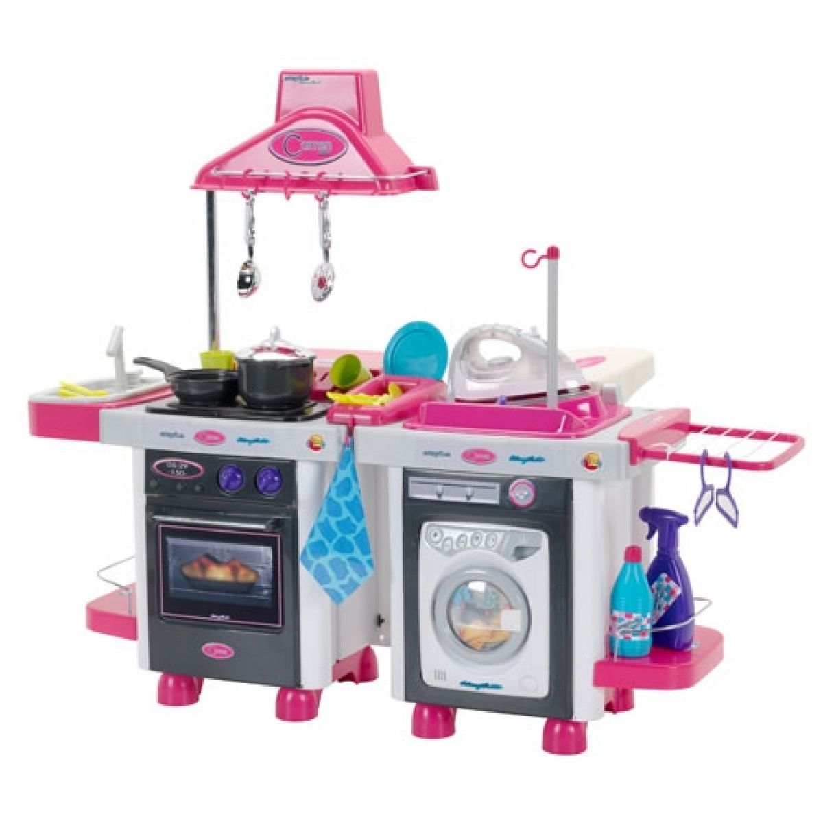 Kuchyň Carmen + pračka + žehlička