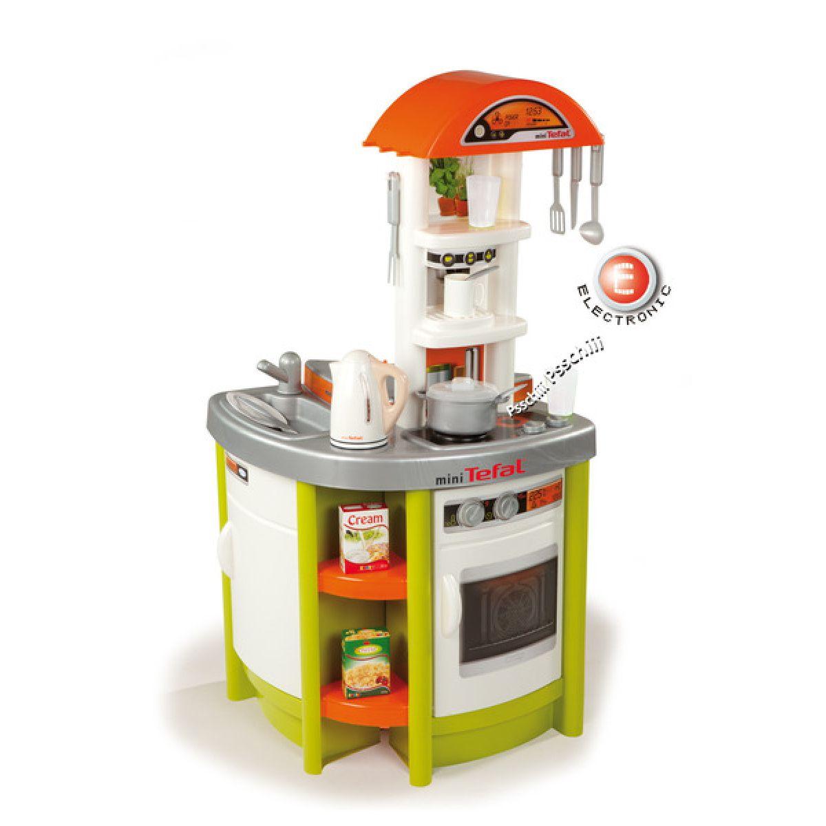 Kuchyňka Studio Tefal zelená + rychlovarná konvice Smoby 024666