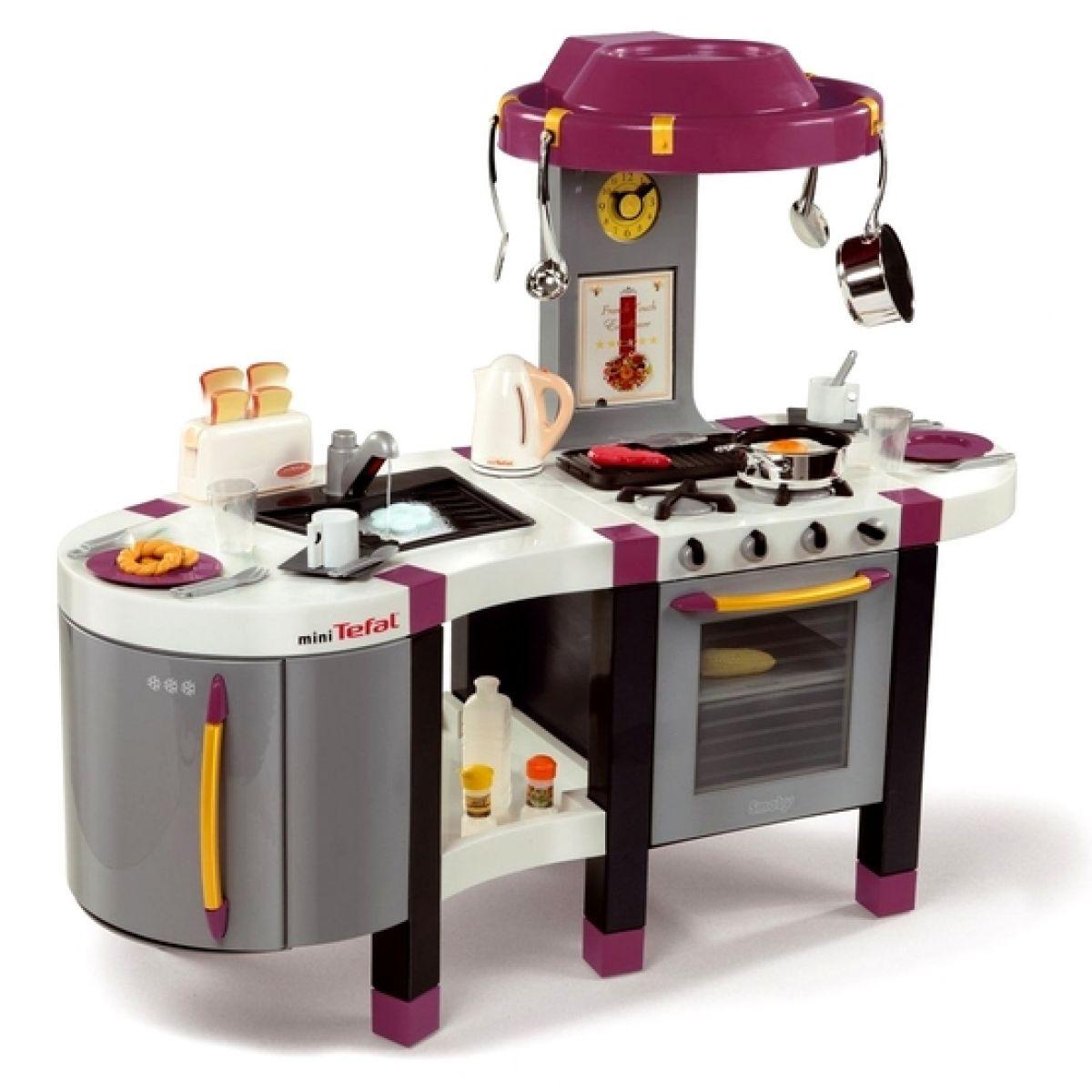 Kuchyňka Tefal French Touch Excellence s tekoucí vodou Smoby 024665