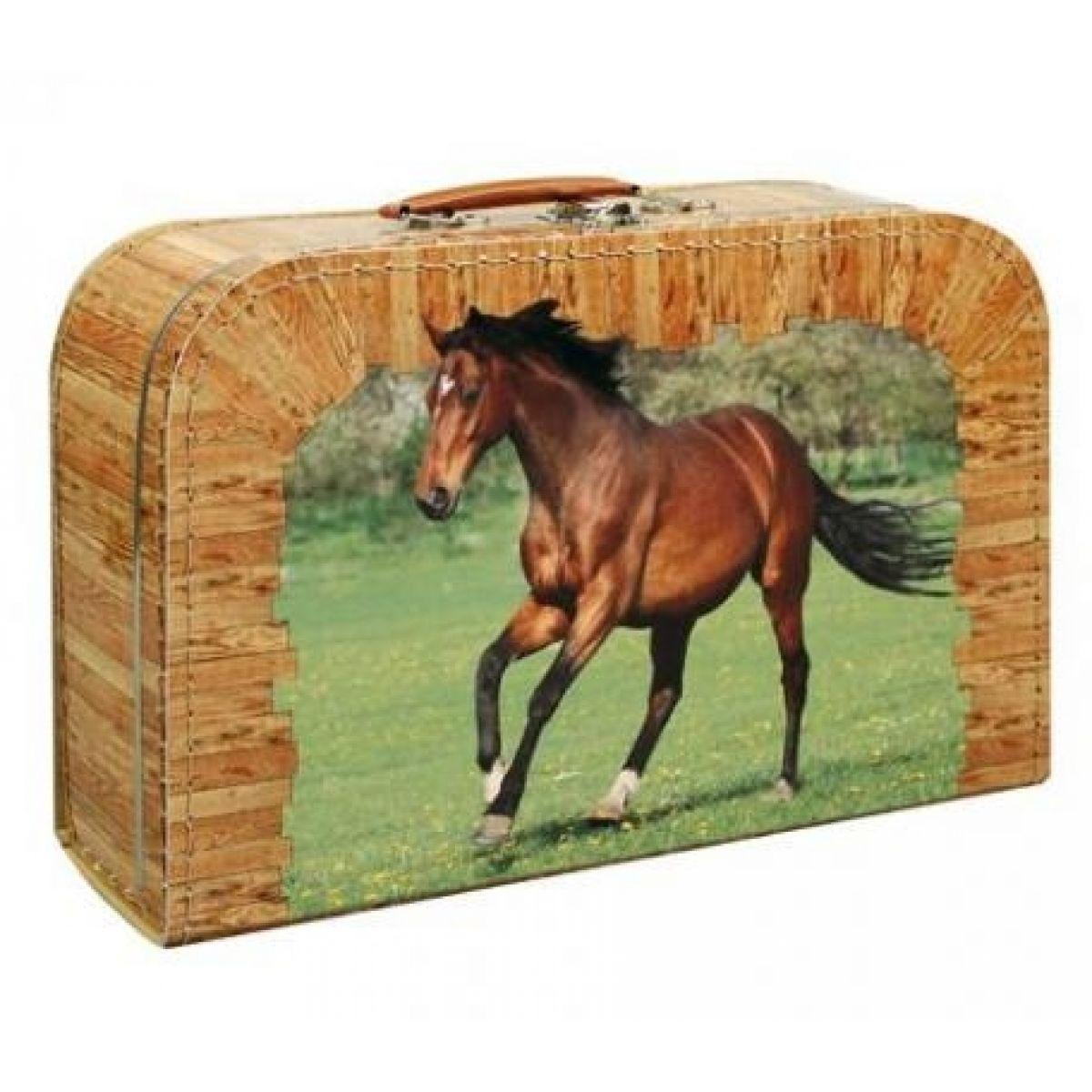 Kufřík kůň hnědý 35cm