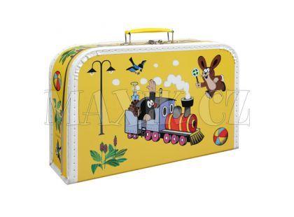 Kufřík Krtek žlutý 35 cm