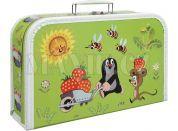 Kufřík Krtek světle zelený 35 cm