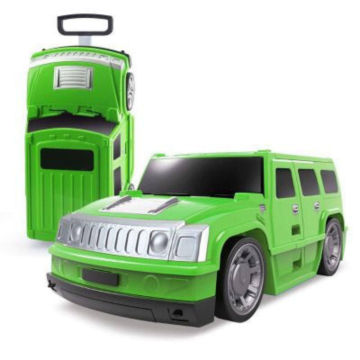 Kufr auto Hummer zelený