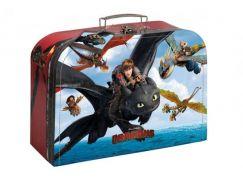 Kufřík dětský školní papírový Dragons 25 cm