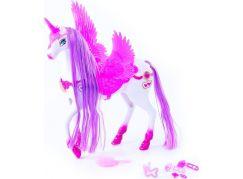 Rappa Kůň česací s křídly 34 cm se světlem a zvukem