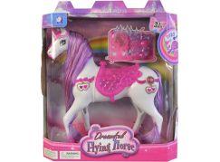 Kůň na baterie se světlem a zvukem příslušenství 23cm