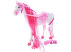 Kůň pro princeznu Steffi Love růžový - Poškozený obal