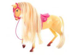Kůň s hřebínkem světle hnědý