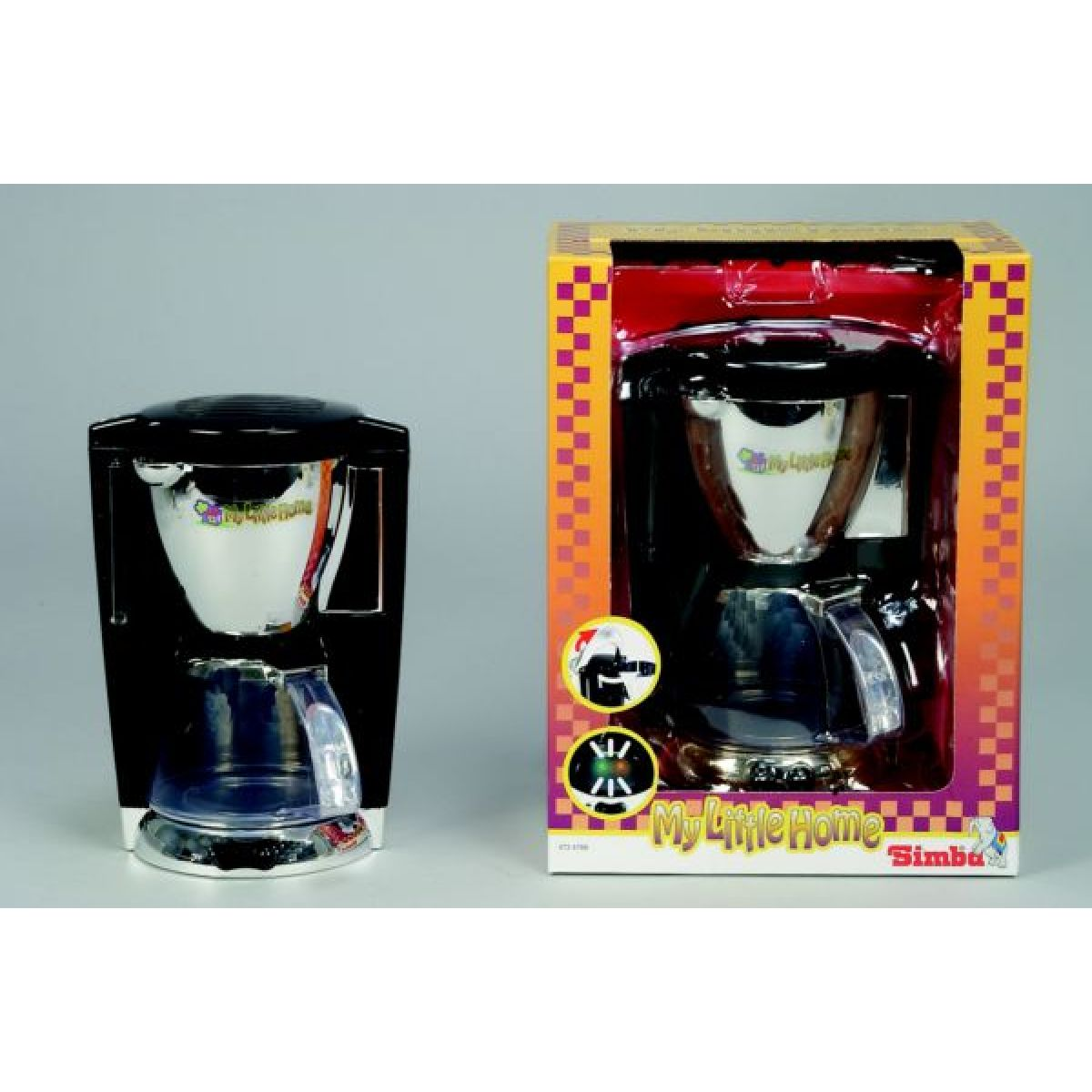 Kávovar chrom Simba