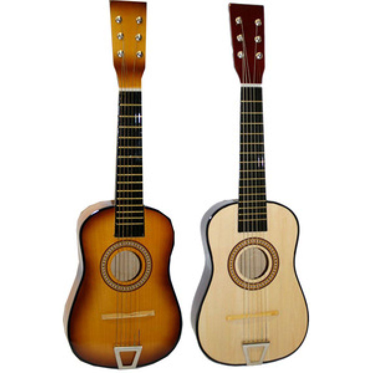 Kytara dřevěná 60cm