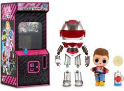 L.O.L. Surprise Boys Arcade Heroes Automat Titanium červený