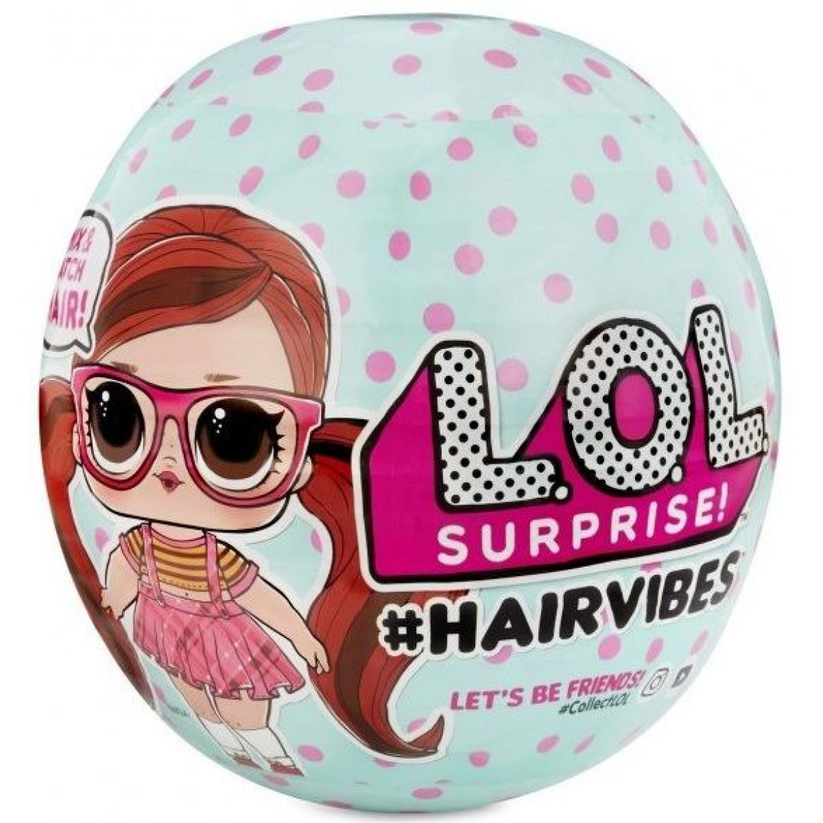 L.O.L. Surprise Hairvibes Česatice