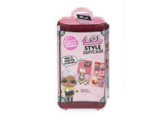 L.O.L. Surprise Kufřík s doplňky tmavě růžový