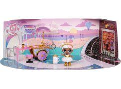 L.O.L. Surprise! Nábytek s panenkou - Sladká promenáda & Sugar