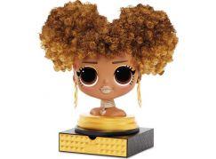 L.O.L. Surprise OMG Styling Head zlato-hnědé vlasy