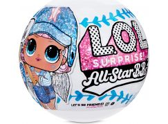 L.O.L. Surprise! Sportovní hvězdy, série 1 - Baseball modrý tým
