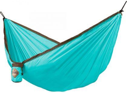 La Siesta Cestovní houpací síť Colibri Single Turquoise